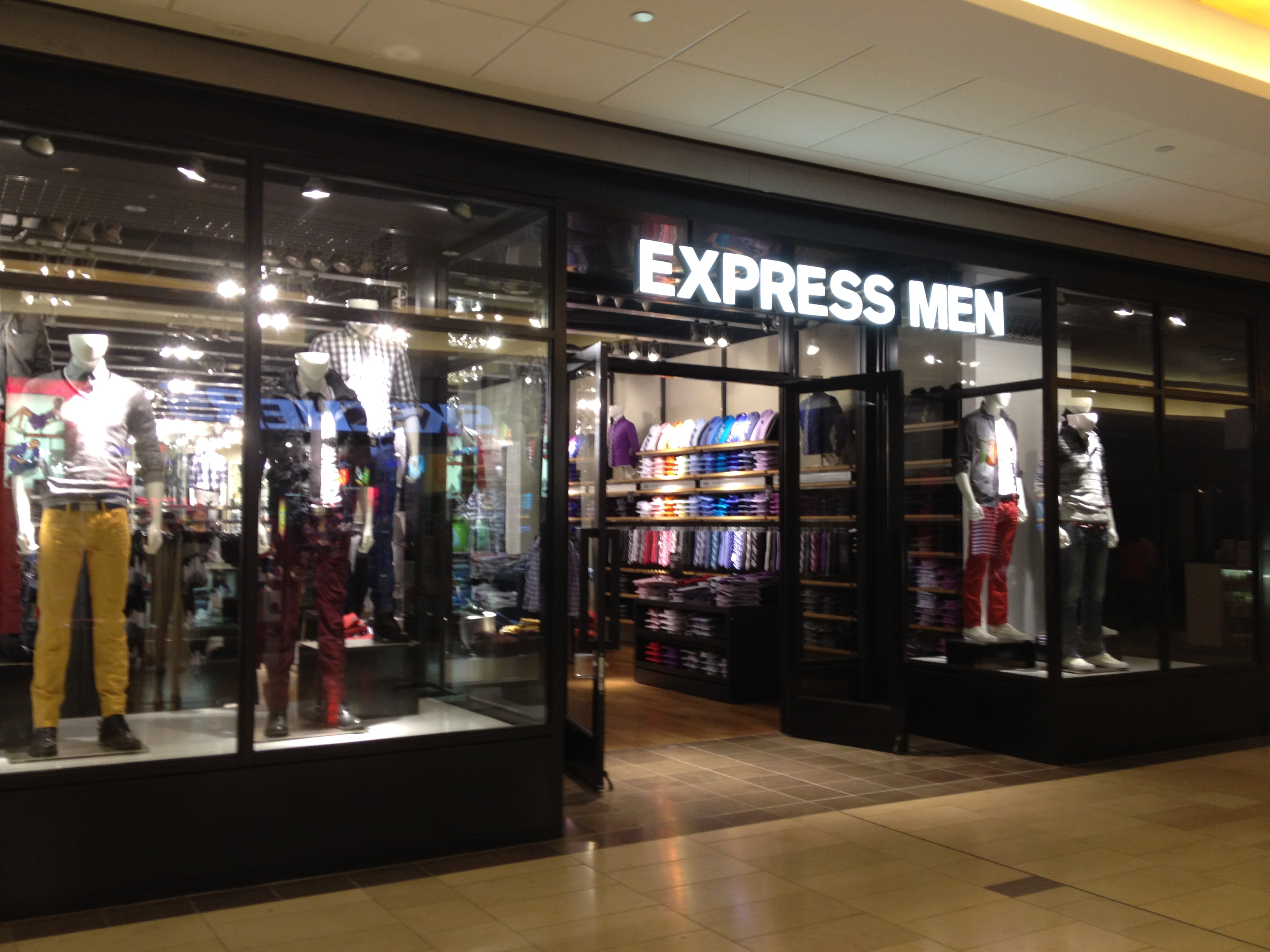 Express clothing store hiring