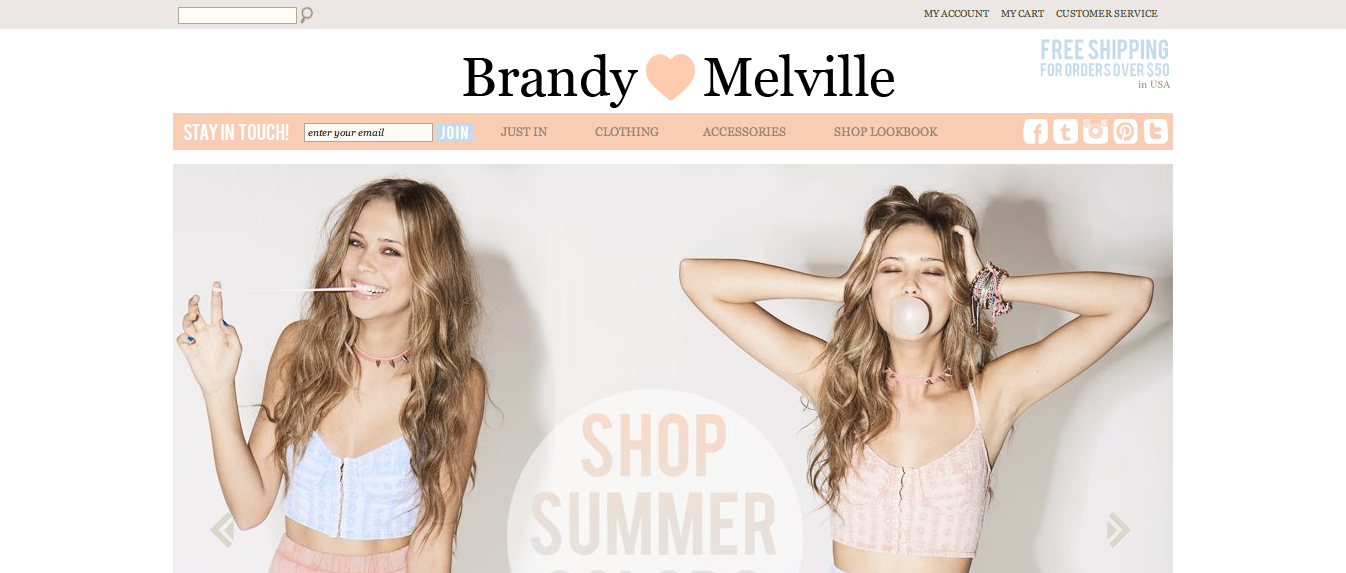 brandy marketing Search job openings at brandy melville 25 brandy melville jobs including salaries, ratings, and reviews, posted by brandy melville employees.