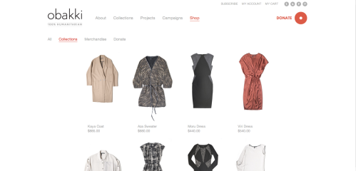 Obakki's new website launched on September 12, 2012