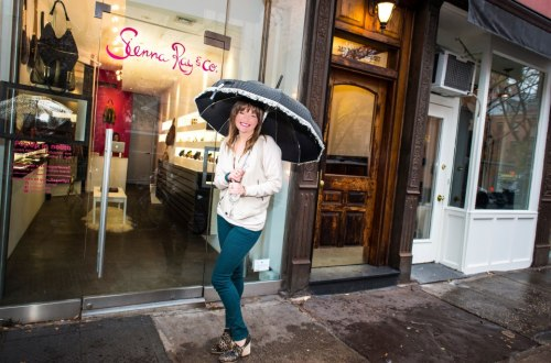 Sienna Ray pop-up shop in Nolita
