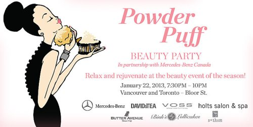 Holt Renfrew Powder Puff