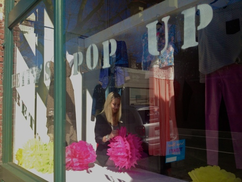 Betty's Pop Up Shop Storefront