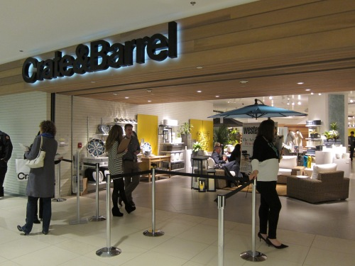 Crate & Barrel Vancouver storefront