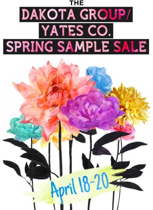 Dakota Group Spring Sample Sale 2013