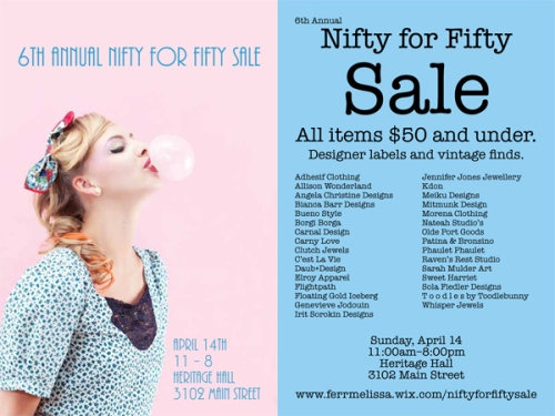 Nifty for Fifty Spring 2013
