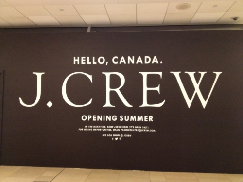 J. Crew in the house