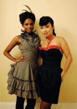Shay Lhea and Aurora Chan