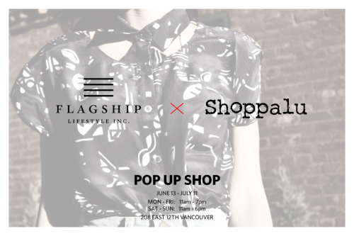 Shoppalu x Flagship Pop-Up