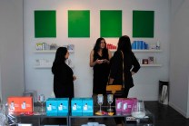 Chatting amongst the Dermalogica products