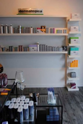 An extensive line of Dermalogica products