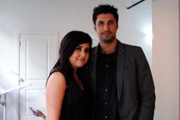 Owner Amy Sahota and realtor Amit Saini