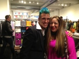Hiiro Prince and store manager Mara Maldonado