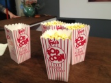 Vintage popcorn a hit with the party-goers