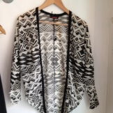 Love this summer Aztec style sweater - $85