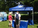 Metro Vancouver info booth
