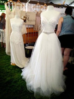 The wedding dress that made a 3 year old dream of his future bride in