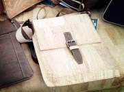 Cork by Design's winning iPad shoulder bag