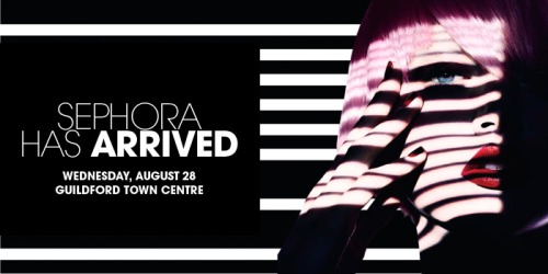 sephora guildford centre opening august 28, 2013