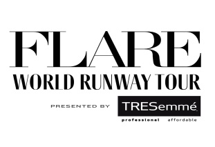 FLARE World Runway Tour logo