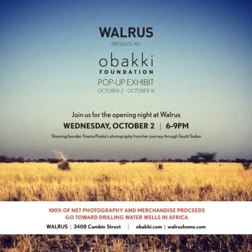 Obakki exhibit at Walrus
