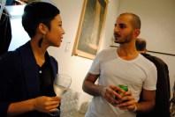 Co-owner Yash Nijati & I shop talking