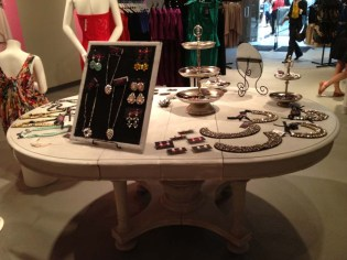 The accessories table