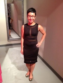 TFNC Doveva Scuba Fitted Dress, $99.99