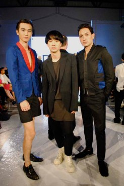 Korean designer Hong Kiyoung and models