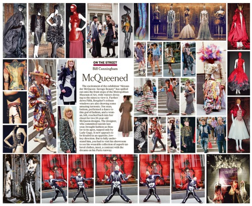 Bill Cunningham New York Times - McQueened