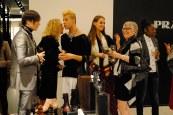 In conversation: Evan Clayton, Kenneth Wyse, friend and Marilyn Wilson