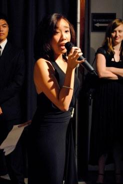 Host Samantha Sito