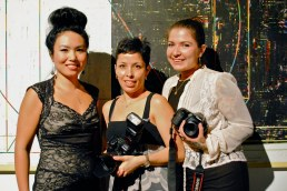 All female photographers at the show! Aurora with Xel Rivera