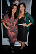 Eco Fashion Week founder Myriam Laroche and her assistant Sarah Stewart