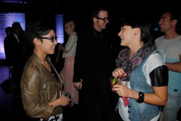 Miranda catching up with Clarissa Gallacio, designer and blogger at Clarisky Business