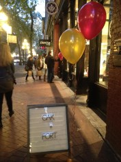 Balloons to celebrate Shop Hop!