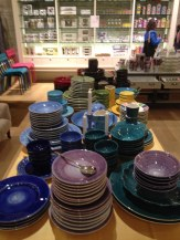 Tableful of plates