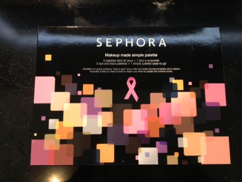 Pink - Sephora palette