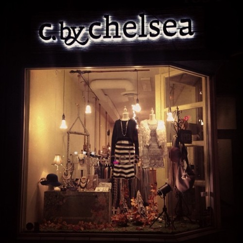 c by chelsea window