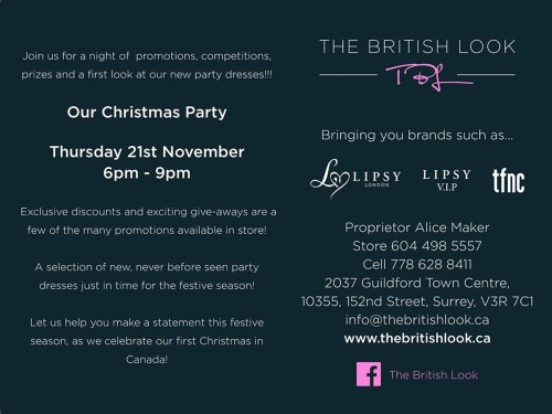 The British Look party