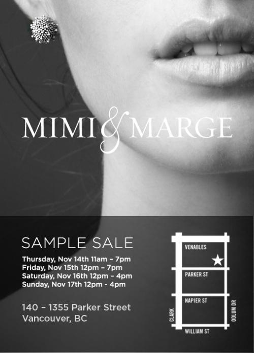 Mimi Marge Sale Fall 2013