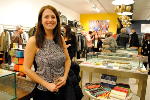 Jewelry designer Jessica Jansen has her organic inspired lien of jewelry carried at Moulé