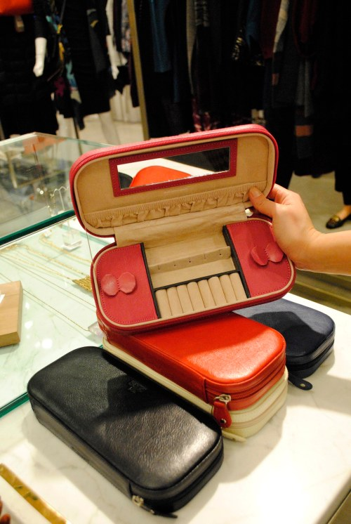The Rowallan travel-friendly jewellery case