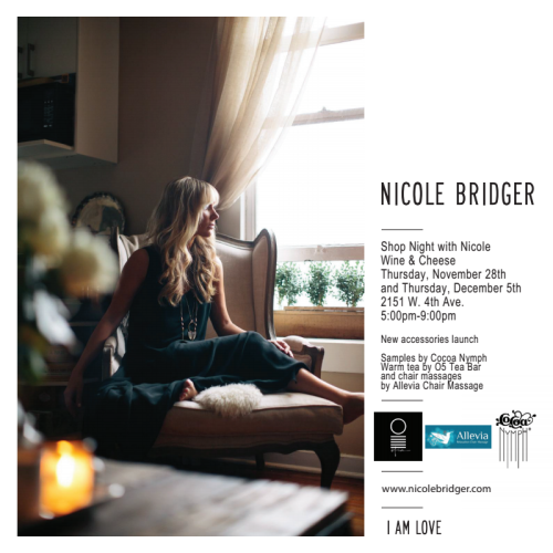 nicole bridger shop night