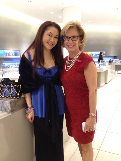RedDot event promoter Frances Hui & Holt Renfrew VP Dana Hall