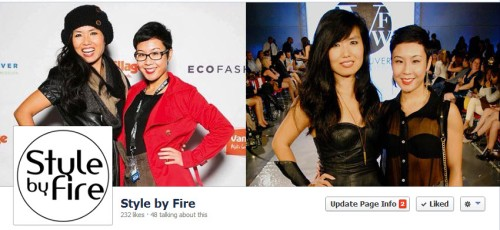 Style by Fire Facebook page