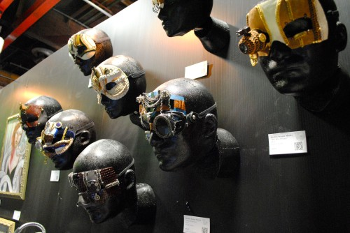 The display of Oculto Steam Masks