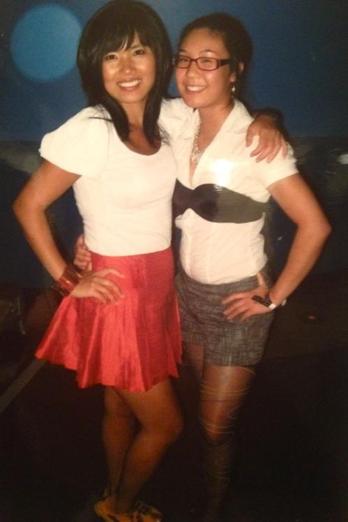 Throwback Aurora and Miranda
