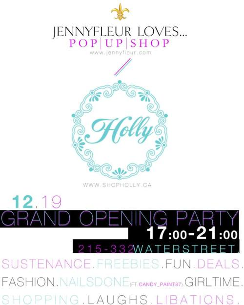 Jennyfleur Loves Pop Up Shop
