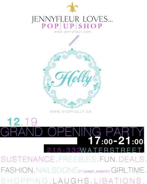 Jennyfleur Loves Pop Up Shop