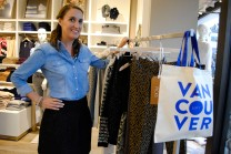 Vitamin Daily editor Sarah Bancroft with her favourite picks at LOFT